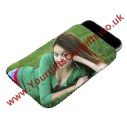 Personalised Phone Pouch, Photo Phone Pouch, Personalised Mobile Phone Case, Photo Phone Case
